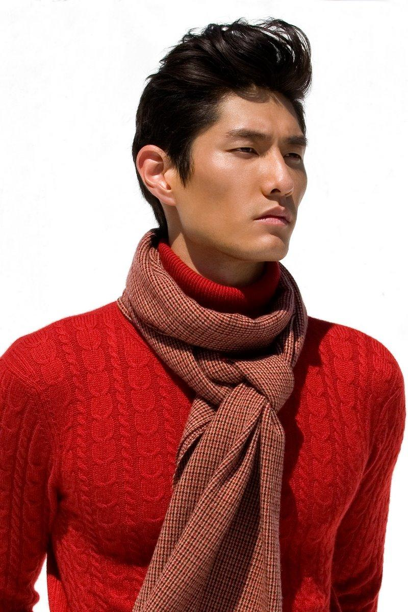 So I am like in LOVE with Daniel Liu. Signed with Ford model, and