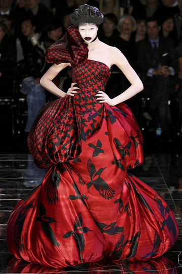 Eat your way to fashionable: Alexander McQueen: one year today