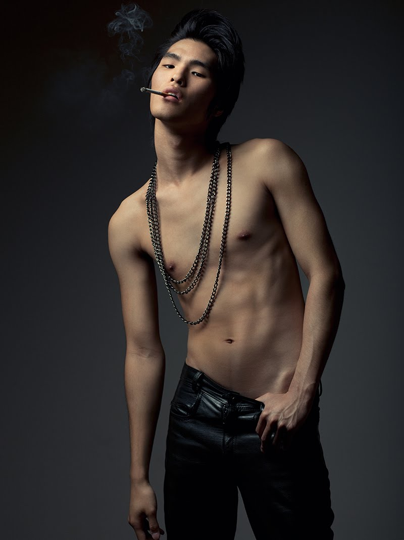 Sangil is represented by Specimen Male Models